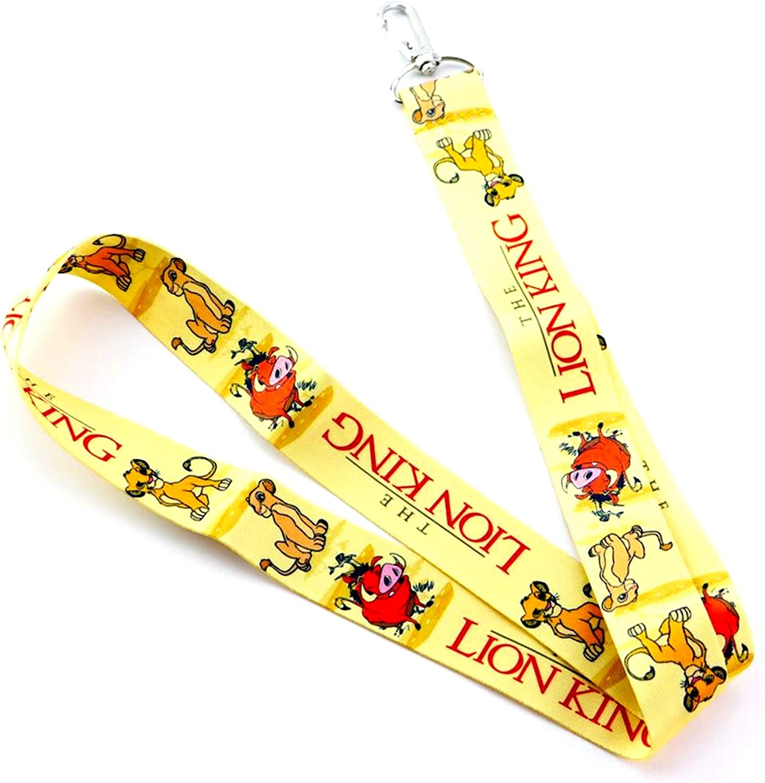 Waterproof Holder Disney/'s The Lion King Lanyard for Pin Trading inc