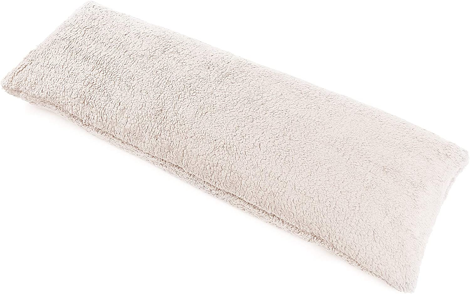 Mr.Sandman Ultra-Soft Sherpa Body Pillowcase for Bed / Sofa, Fluffy Long Body Pillow Cover with Zipper Closure - 20
