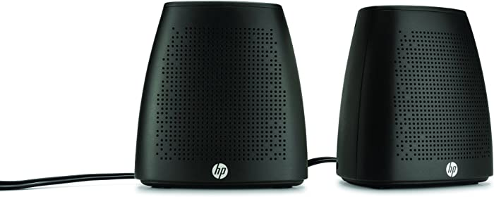 HP V3Y47AA#ABL Wired USB Speakers S3100 (Black)