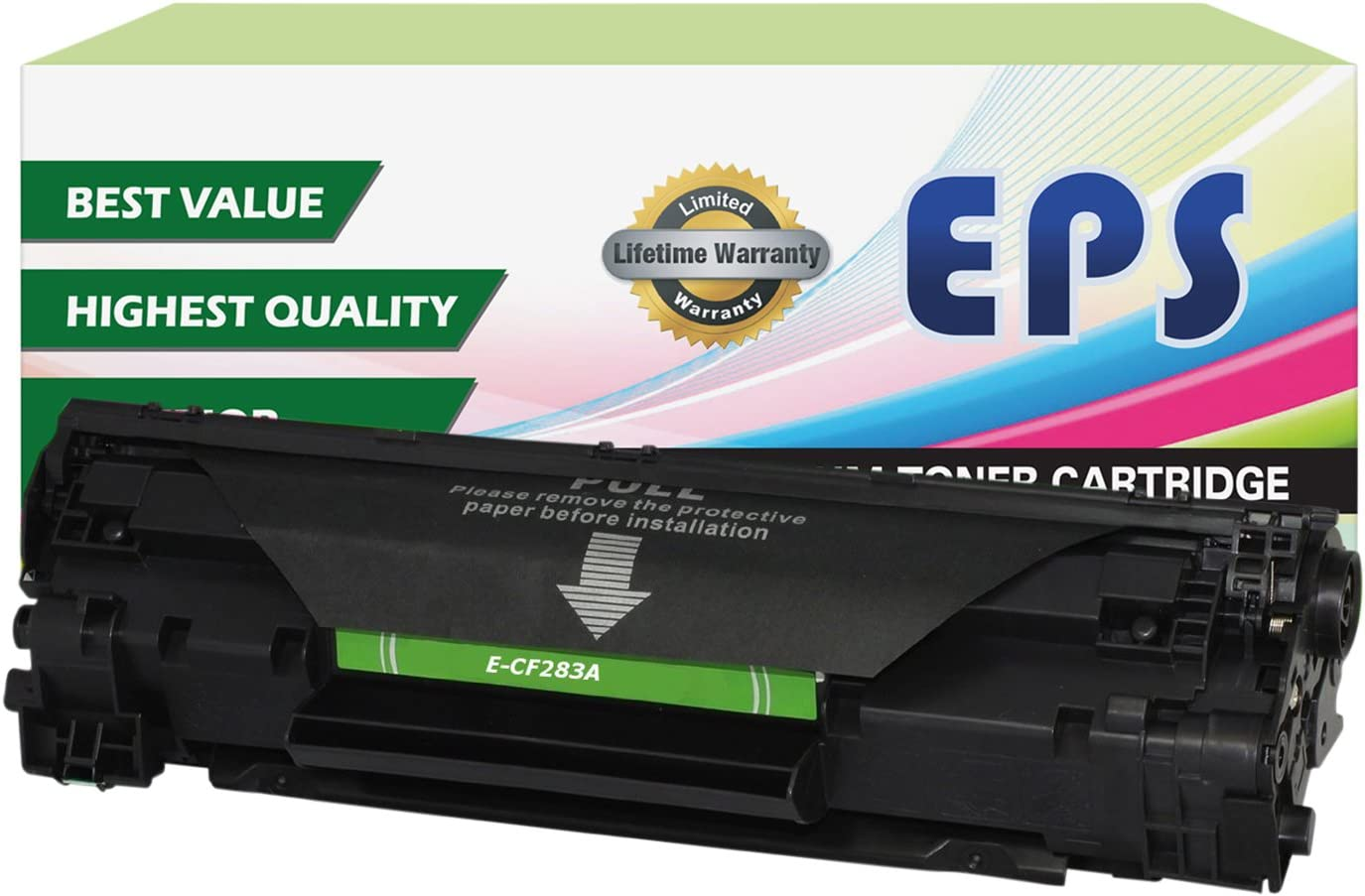 EPS Compatible Toner Cartridge Replacement for HP 83A