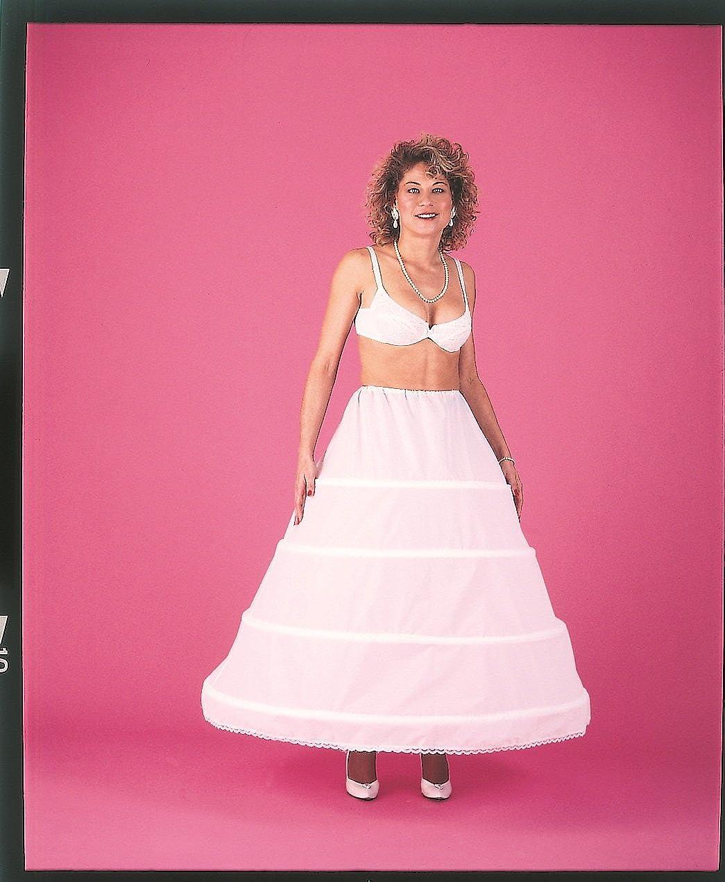 236c29927e Top1  4 Bone Hoop Skirt Wedding Slip Bridal Petticoat (CH140DS)
