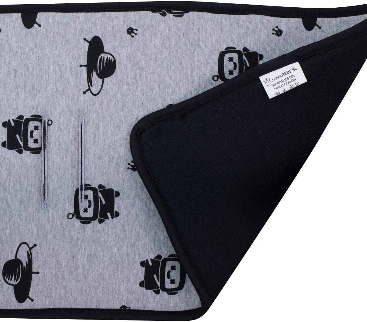 Black Series JANABEBE Colchoneta para Cochecito Gemelar