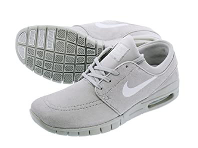 837e51b72fb96b Nike SB Stefan Janoski Max L - 685299-007 - Matte Silver - UK 10.5   Amazon.co.uk  Shoes   Bags