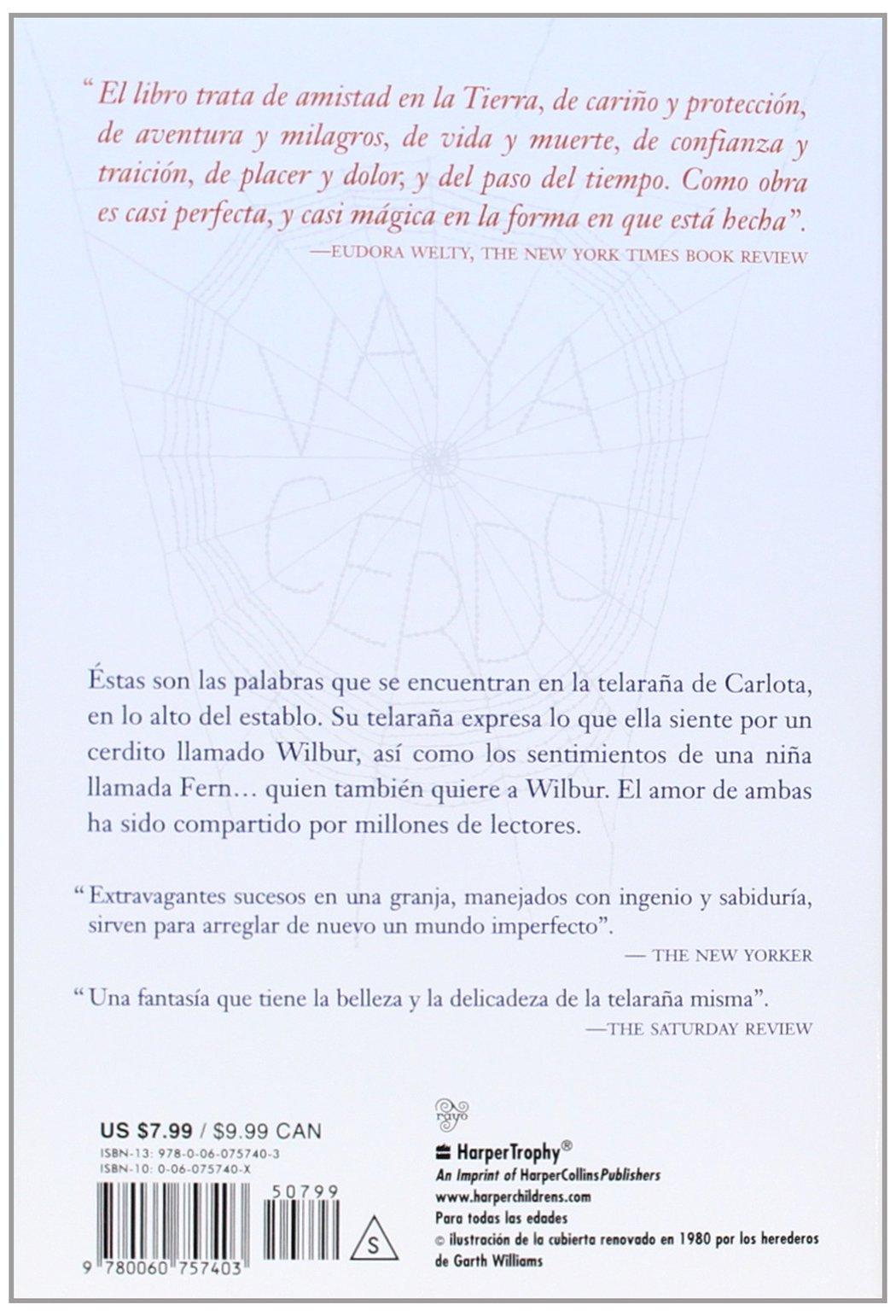 La Telaraña De Carlota Spanish Edition E B White Garth - Que es us zip code