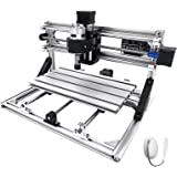 VEVOR CNC 3018 CNC Router Kit 3 Axis CNC Router Machine GRBL Control with ER11 and 5mm Extension Rod for Plastic Acrylic…