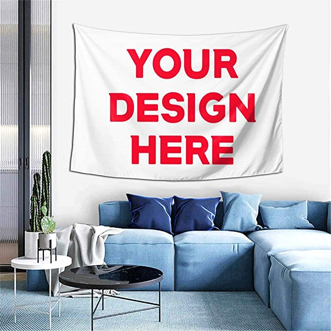 Amazon Com Sdjgnssdf Custom Personalized Tapestry Art Wall Hanging Decorations Bedroom Living Room Dorm 60x40inch Home Kitchen