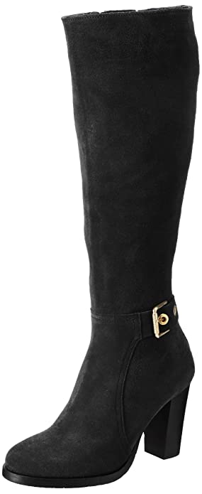 B1285arcelona 6b, Bottes Femme, Marron (Black Coffee), 36 EUTommy Hilfiger