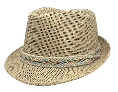 e18b931de95 UK Panama Hat Straw Hat Trilby Garden Hat Summer Hat Beach Hat Women Men  Ladies (