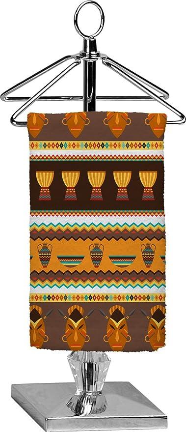 africano máscaras toalla de punta de los dedos (personalizado)