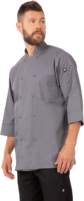 Chef Works Men's Morocco Chef Coat