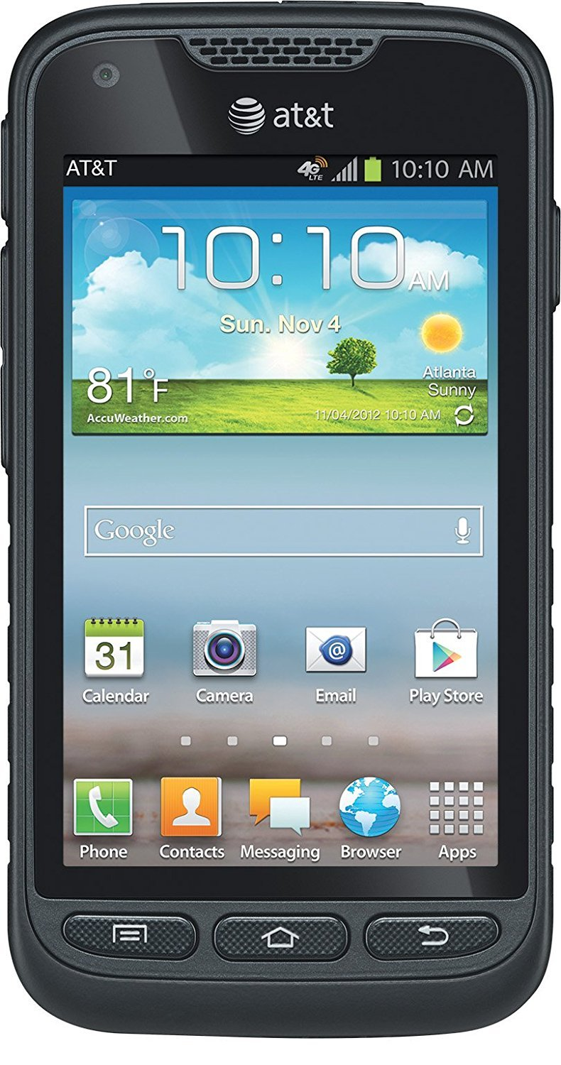 Samsung Galaxy Rugby Pro 4 G Lte I547 Unlocked Android Ruggedized Smart Phone by Samsung