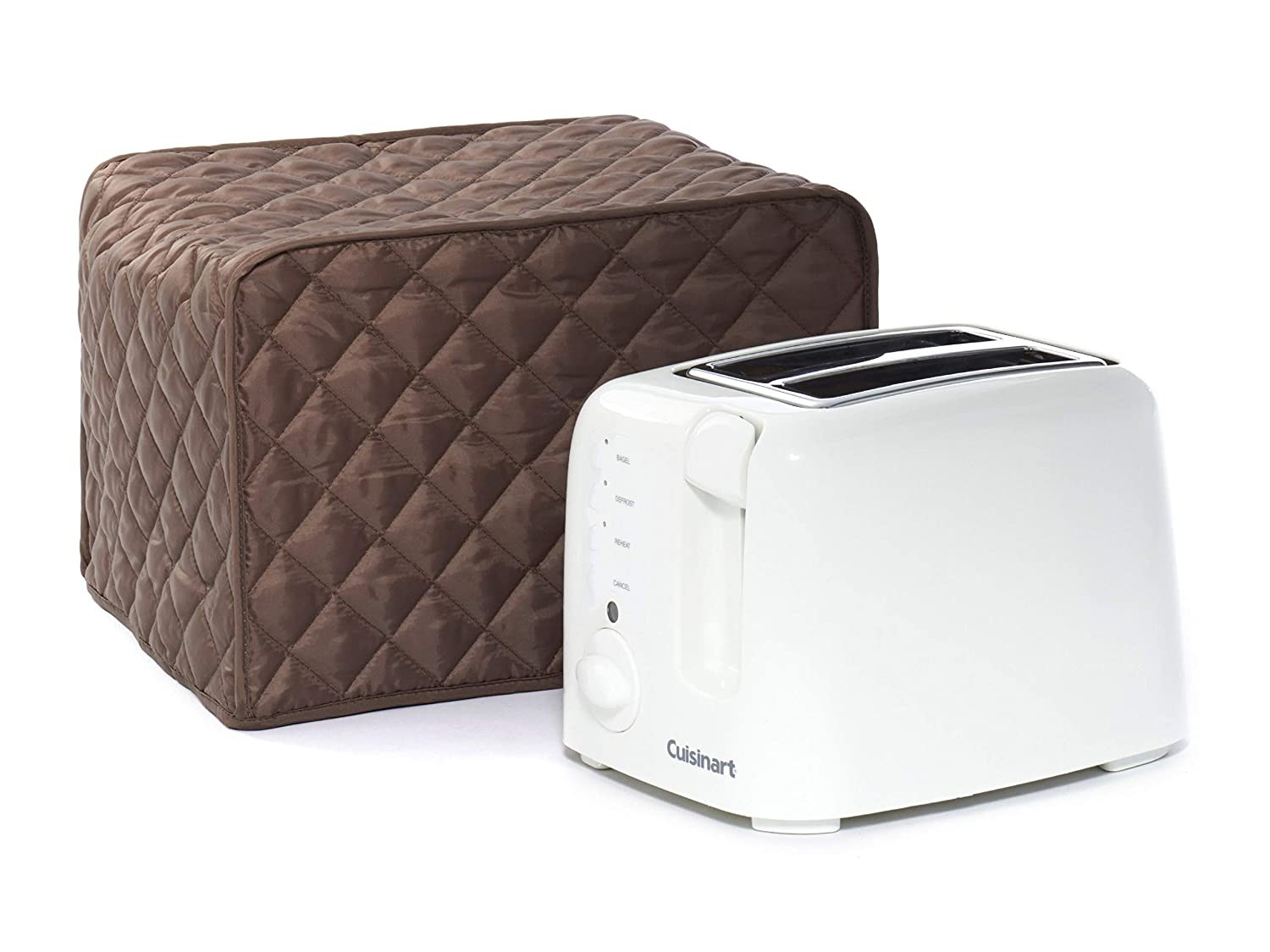 CoverMates – Toaster Cover – 11W x 8D x 8H – Diamond Collection – 2 YR Warranty – Year Around Protection - Bronze