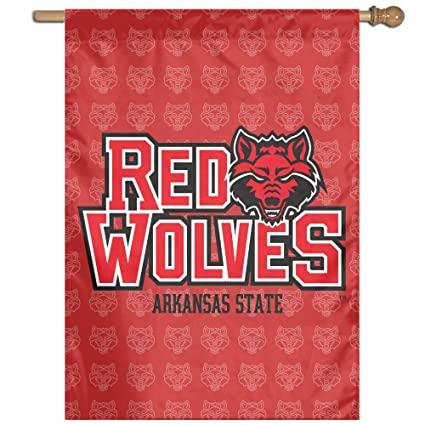 Amazon.com: NCAA Arkansas State Red Wolves Teams Logo 27