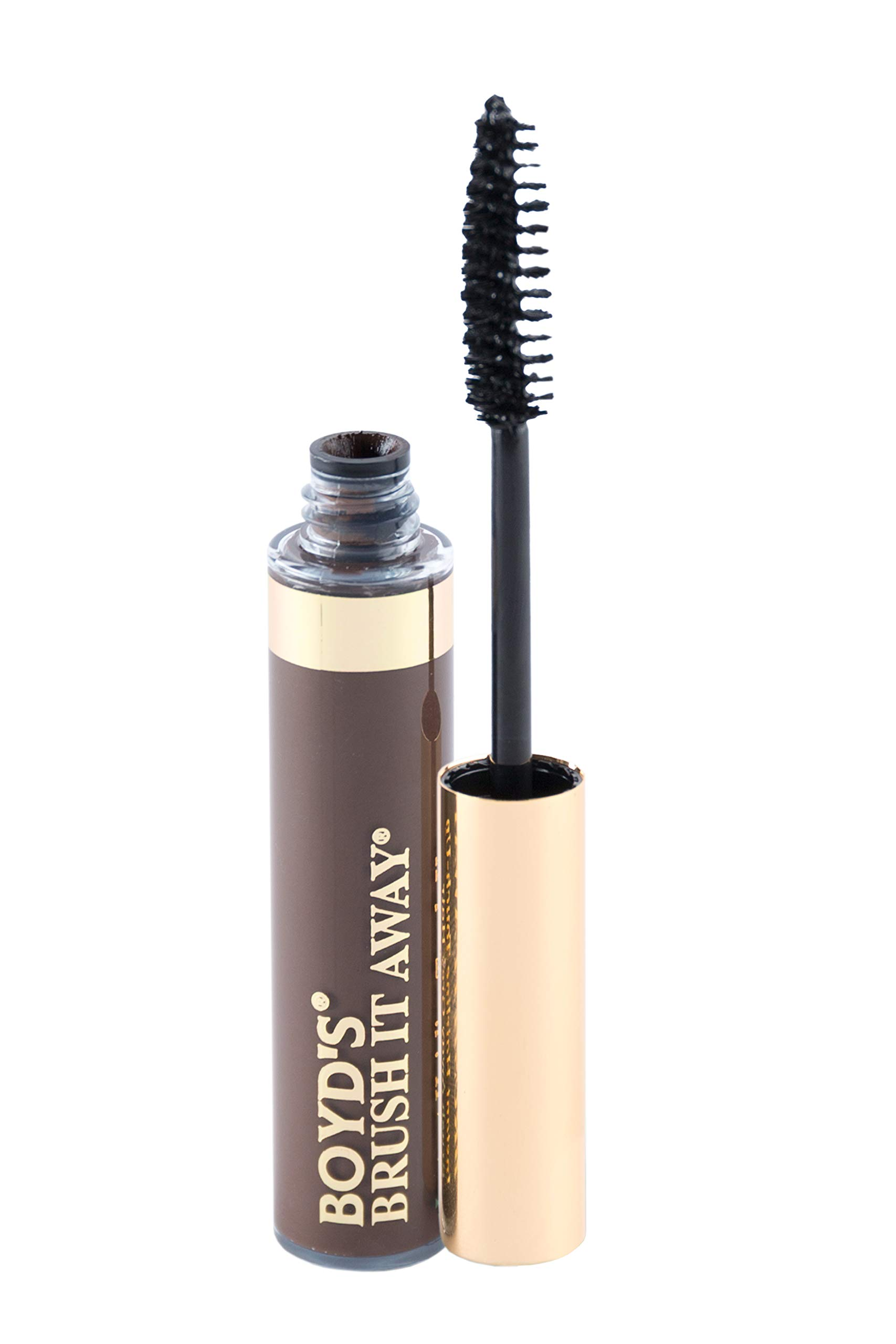 Boyd's Brush It Away Hair Mascara and Root Touch Up (Medium Brown) by BOYD'S MADISON AVENUE