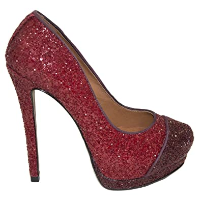 Schutz Damen Pumps Rot Rot, Rot - Rot - Größe  35  Amazon.de  Schuhe ... 40924dae95