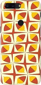 Stylizedd OnePlus 5T Slim Snap Basic Case Cover Matte Finish - البلوط
