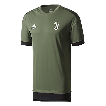 2017-2018 Juventus Adidas Training Shirt (Base Green)