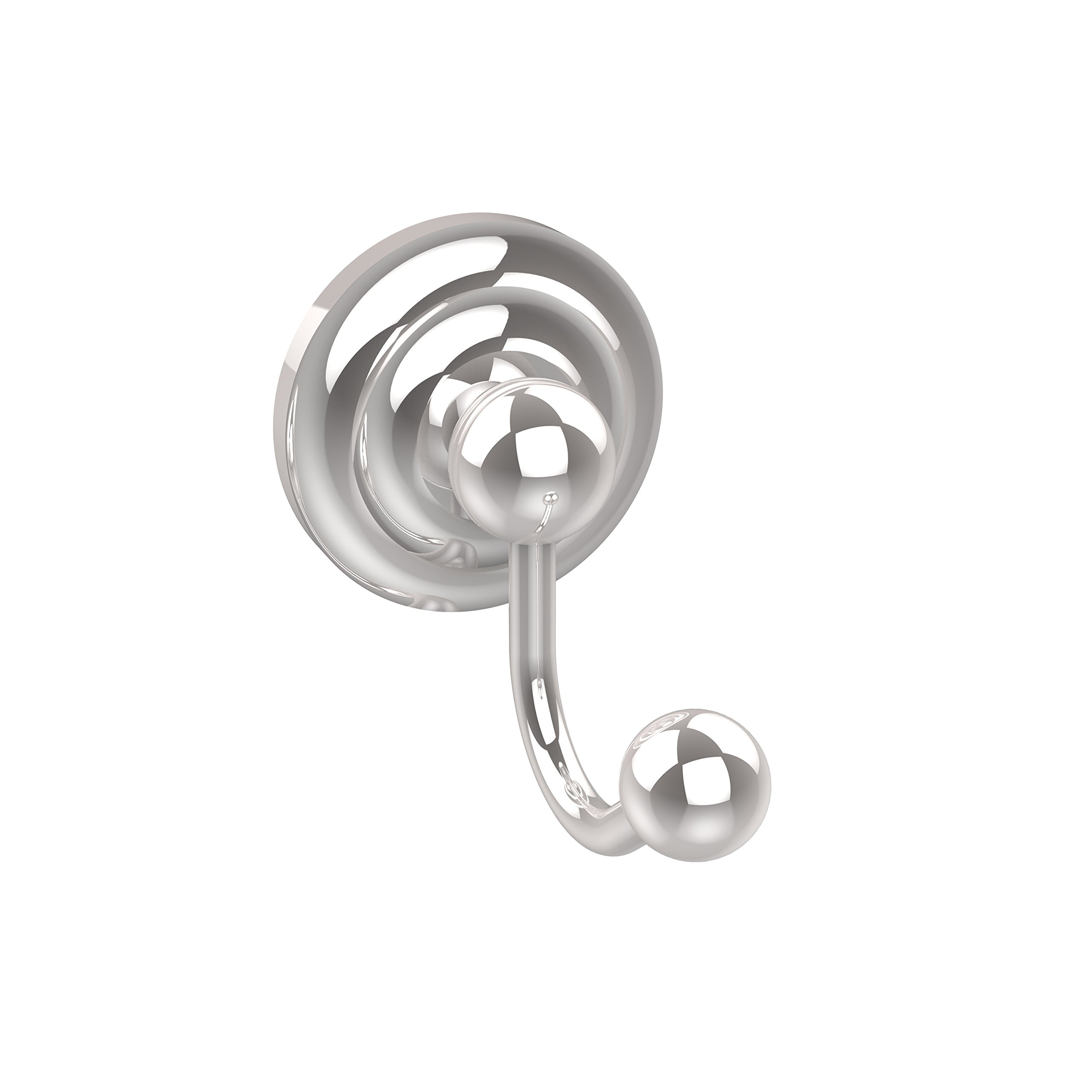 Allied Brass PQN-H1-PC Prestige Que New Collection Robe Hook, Polished Chrome