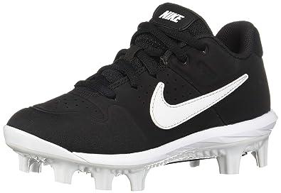 763f8fb825 Nike Boys' Alpha Huarache Varsity Low MCS (BG) Baseball Shoe Black/White