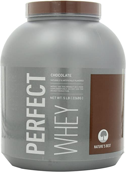 Natures Best Perfect Whey Protein, Chocolate, 5-Pound Tub