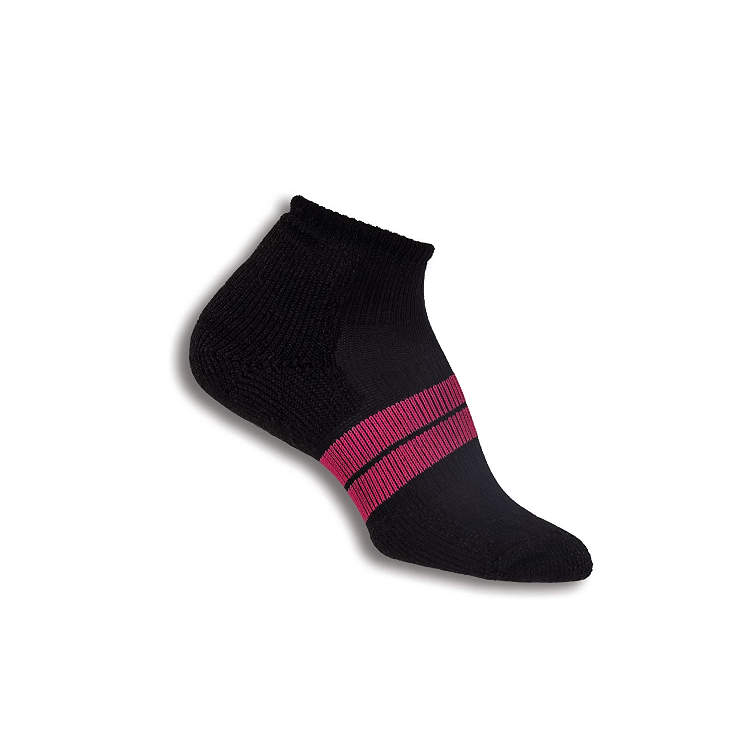Thorlos Women's Thick Padded 84N Runner Socks Black Small Thorlo Inc. 84 NW