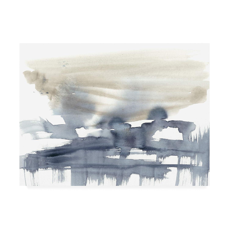 Trademark Fine Art Paynes Bloom II by Jennifer goldberger, 14x19
