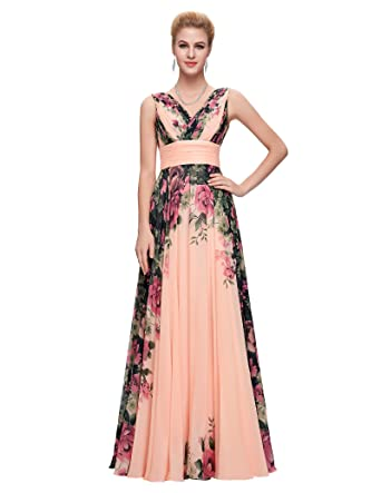 GRACE KARIN Women Long Formal Dresses Ball Gown Cocktail Dress Plus Size 12