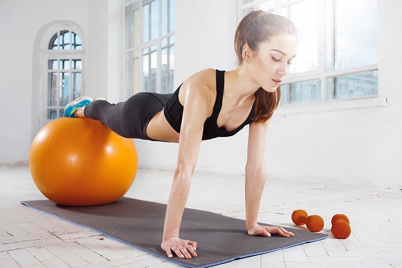 Peso y color a elegir Ideal para entrenamiento funcional y fortalecimiento muscular POWRX Mancuernas neopreno 0,5-5 kg set PDF Workout