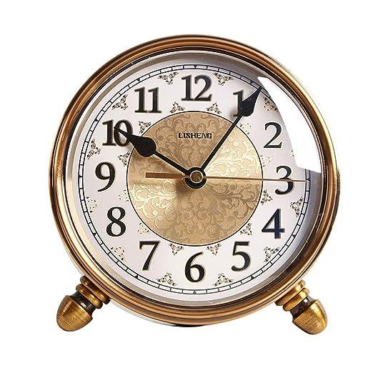 Clock Reloj de Mesa Pequeño Vintage, Simple Escritorio Principal ...