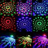 Hexu Party Disco Ball Lights,LED Strobe Lamp 7
