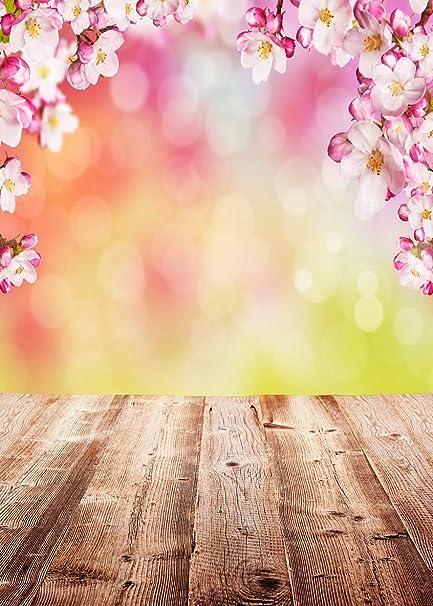 Aiikes 15mx21m5x7piedi Primavera Fotografia Sfondo Nozze Fiore