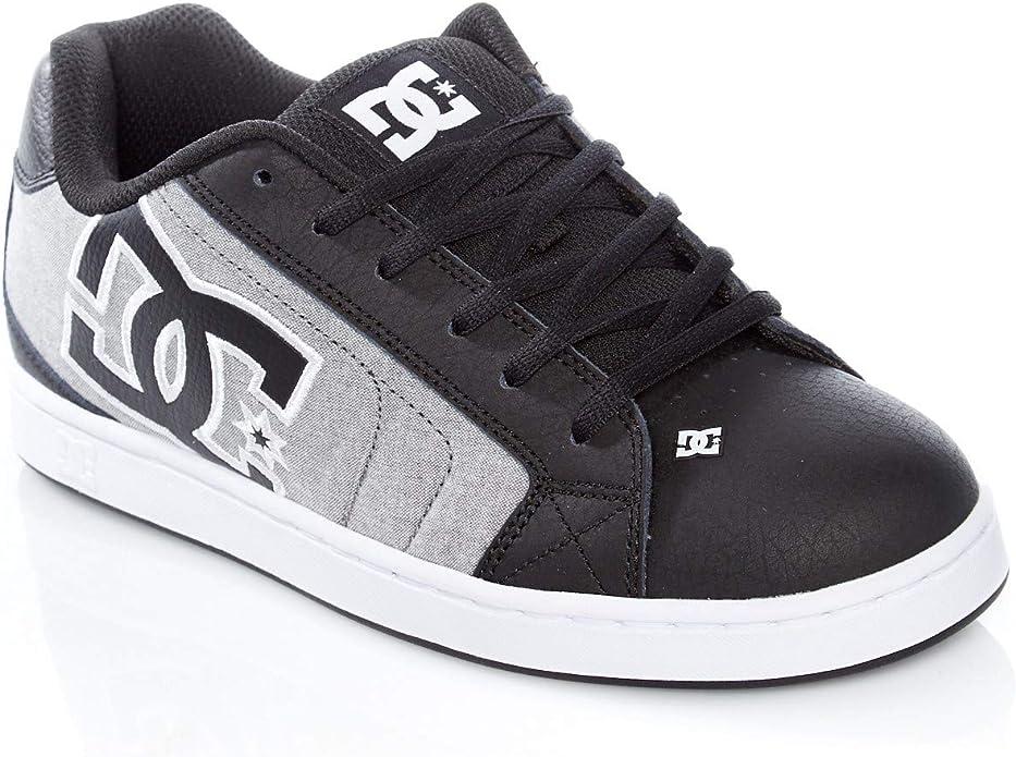 DC Shoes Net SE M Shoe XKKW Skate Hommes Nero//Bianco Scarpe da Skate