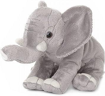 WWF Plüschtier Elefant (18cm) 2 Varianten Kuscheltier Stofftier NEU (Rüssel hoch)