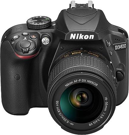 Nikon D3400 Gehäuse Inkl Af P Dx Nikkor 18 55 Mm Vr Kamera