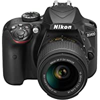 Nikon D3400 + Af-P 18-55Vr Black Digital Slr Camera And Lens Kit Dslr Kamera