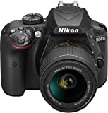 Nikon D3400 Gehäuse inkl. AF-P DX NIKKOR 18-55 mm VR schwarz