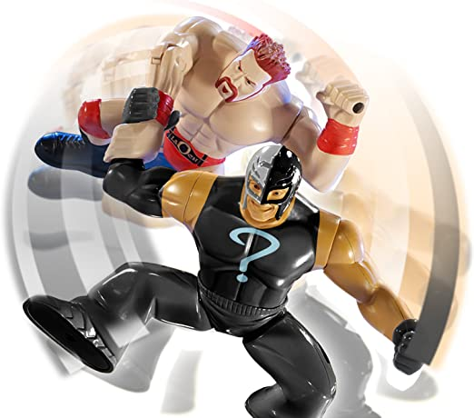 WWE Power Slammers 2 Pack Sheamus And Rey Mysterio: Amazon.es ...