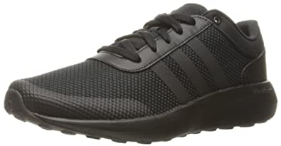 size 40 1356a bc4e9 adidas Men s Cloudfoam Race Running Shoe, Black, 8 D - Medium