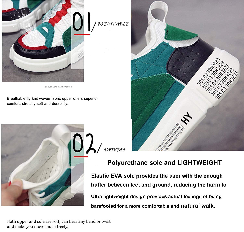 Amazon.com: LSGEGO Zapatillas deportivas de moda para mujer ...