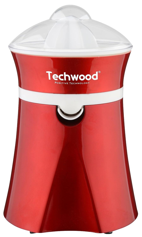 Techwood TPF-25 - Exprimidor eléctrico, 20 W, color rojo: Amazon ...