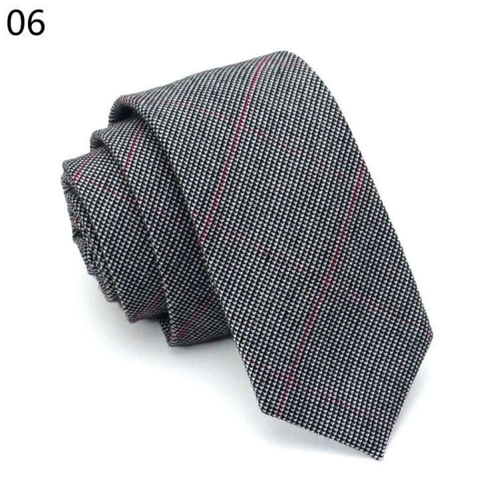FDHFC Caballeros Ocio Moda Casual 6 Cm Corbatas Corbatas para ...