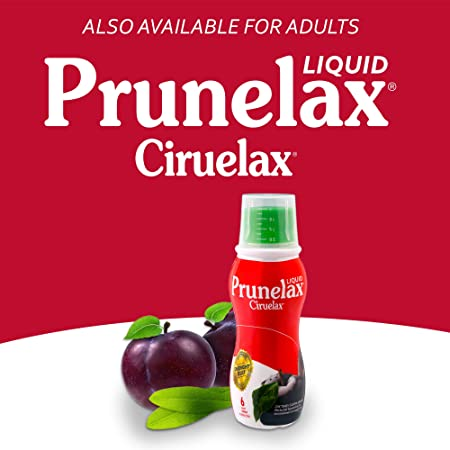 Amazon.com: Prunelax Ciruelax Natural Laxative Regular Liquid for Kids, 4.05 fl oz: Health & Personal Care