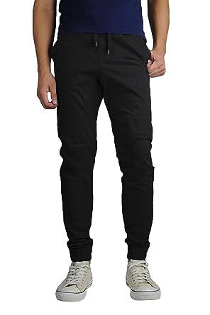 3e639ffc8bf07c Neo Blue Men's Twill Jogger Pants at Amazon Men's Clothing store: