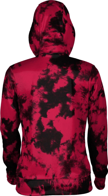 Grunge School Spirit Sweatshirt ProSphere Southern Utah University Girls Zipper Hoodie