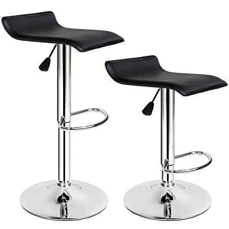 TecTake Bar Stool Faux Leather Kitchen Breakfast Stool Dining Room Chair    Different Models   ( Awesome Design