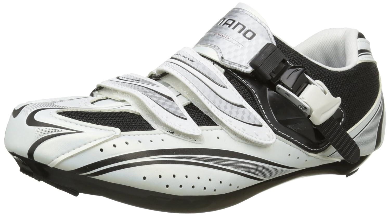 Shimano SH-R087W ロードバイクシューズ weiß-schwarz ホワイト (サイズ: 42)   B0046XB29A