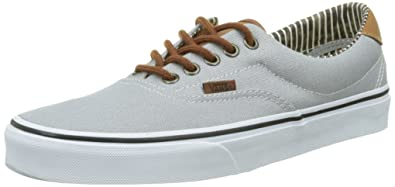 db91a06ef7 Vans Mens Era 59 Silver Sconce Stripe Denim Sneaker - 4
