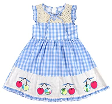 b4f92ca07 Sharequeen Girl's A-line Dress Sleeveless Embroidery Modern Birthday Gifts Dress  Kids SQ8809 (2
