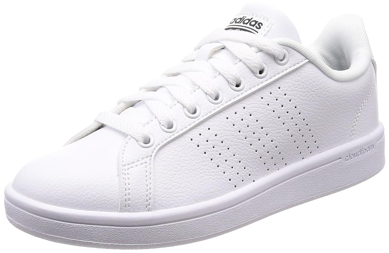 Adidas Cloudfoam Advantage Clean, Zapatillas para Mujer 37 1/3 EU|Blanco (Ftwbla/Ftwbla/Negbás 000)