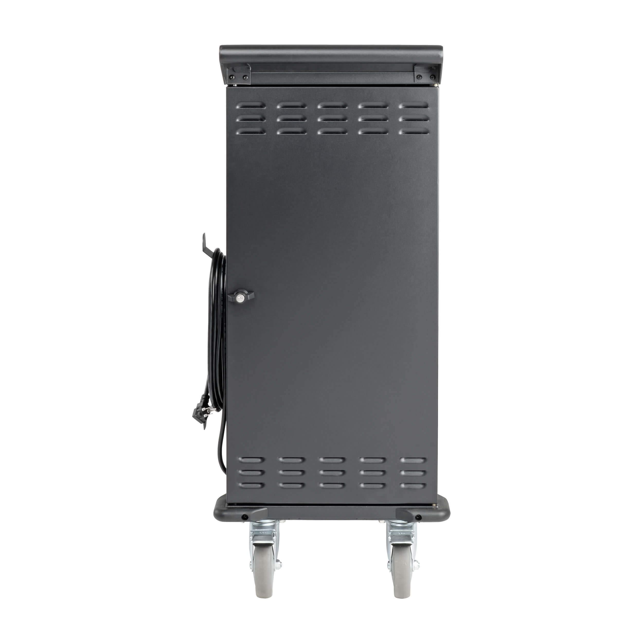 Tripp Lite 27-Port AC Mobile Charging Cart Storage Station for Chromebooks, iPads, Laptops, Tablets, Black (CSC27AC) by Tripp Lite (Image #4)